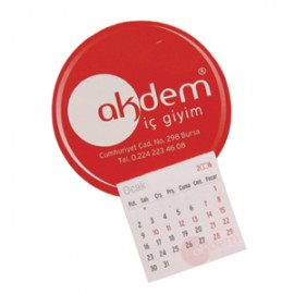 Notepad and Calendar Magnet